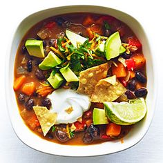15 sweet potato dishes | Sweet Potato and Black Bean Chili | Sunset.com