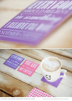 Handmade coasters: Perfect for your home and as a personalized wedding favor.  The DIY how-to here: http://www.theprettyblog.com/2012/03/handmade-coasters-perfect-for-your-home-as-a-personalised-wedding-favour/