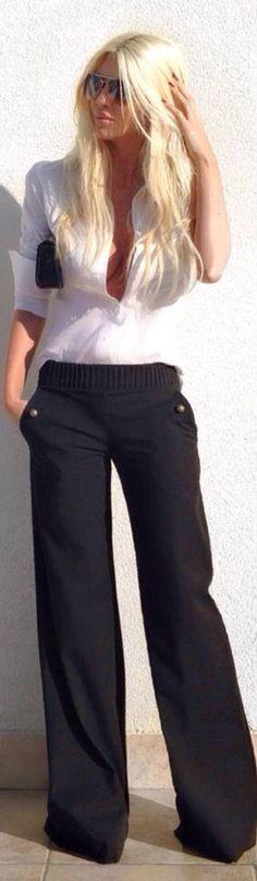 Ok I like these black pants....