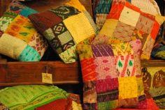 Cojines de seda, India