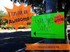 sell stuff, organ skill, sale plan, garage sales, garageyard sale, garag sale