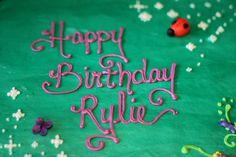 tinkerbel cake, birthday cake