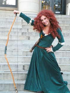 My Merida cosplay from Brave!