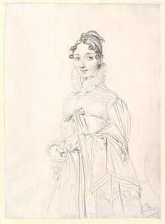 Jean-Auguste-Dominique Ingres, Portrait of a Lady