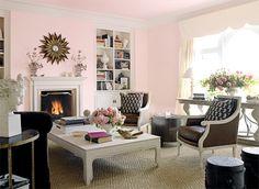 "benjamin moore ""bridal pink"" -- photo from house beautiful"