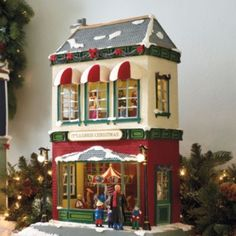 It's Always Christmas Animated Toy Store