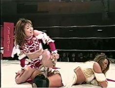 Mima Shimoda and Etsuko Mita #joshipuroresu