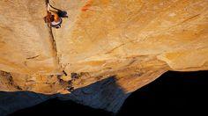 Mayan Smith-Gobat climbing the Salathe Headwall on Vimeo
