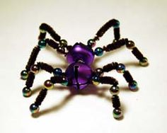 Jingle bell spider....would be cute with the Legend of the Christmas spider