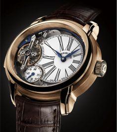 AUDEMARS PIGUET Millenary Minute Repeater Watch - Noble Horological Complication. Limited Edition of 8 pieces (titanium). Price: $496,800.00 USD audemarspiguet, style, serious time, fine watch, dream watch, audemars piguet, men, horolog, piguet millenari
