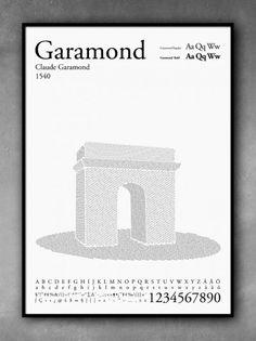 """Garamond"" the poster"