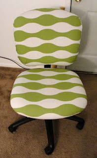 Simple way to recover an office chair??