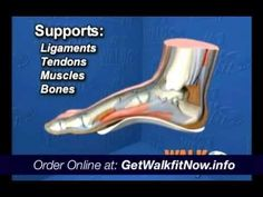 Need arch supports? Let Walk fit Platinum cure your foot pain
