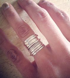 bling, silver ring, fashion, stack ring, style