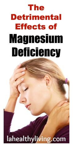 The Detrimental Effects of Magnesium Deficiency