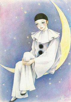 Pierrot is a stock character of pantomime and Commedia dell'Arte whose origins are in the late 17th-century Italian troupe of players performing in Paris.