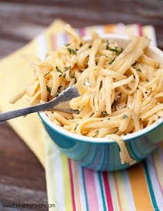 Creamy Garlic Pasta   Perfect comfort food for a quick weeknight dinner