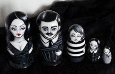 Addams' family nesting dolls!