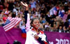 Gabby Douglas keeps reminding us that you're never fully dressed without a smile :)