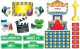 """Checkout the """"Lights, Camera, Action! Bulletin Board Set"""" product"""