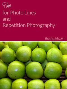 Photographing lines