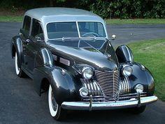 1940 Cadillac Series 60 Sedan.