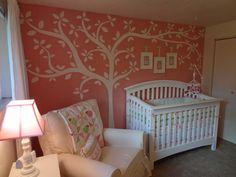 Cute nursery for a baby girl!