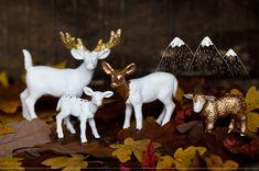 painted plastic animals
