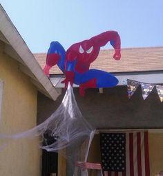 "Photo 1 of 11: Superhero / Birthday ""superhero birthday party-Georgie's 3rd birthday""   Catch My Party"