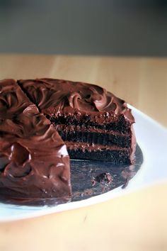 Crumbs and Cookies: chocolate blackout cake.