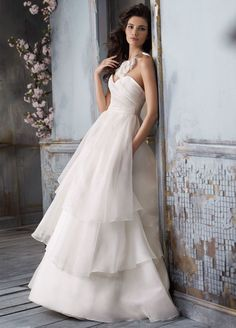Jim Hjelm Bridal Gowns, Wedding Dresses Style jh8100 by JLM Couture, Inc.
