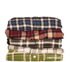Mystery Oversized Flannel Shirt by MintThreads on Etsy, $8.99