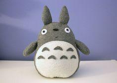 DIY Totoro plush pattern and instructions #DIY #Totoro #plush