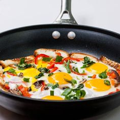 sunny side up eggs with bread and vegetables