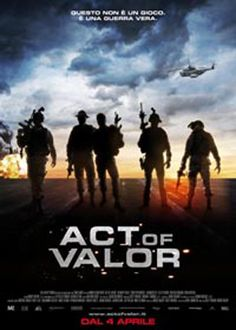 Act of Valor..Navy Seal movie.  Awesome!!