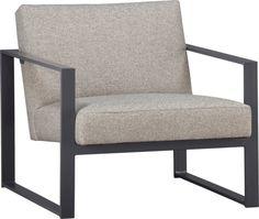 Modern design in specs flax chair