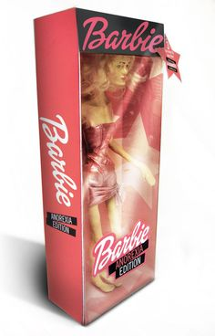 Barbie: Anorexic Edition by Luz Guillermo, via Behance