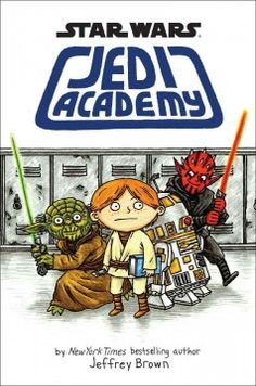 diari, middle school science, graphic novels, jeffrey brown, pilot, jedi academi, book, star wars, kid