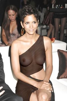 Halle Berry...uh...I have a feeling this was completely intentional