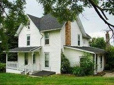 old houses, white hous, farmhous style, exterior hous, farm houses