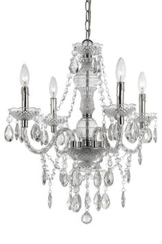 Our motto: every home deserves a chandelier! Naples Mini Chandelier on @HauteLook.