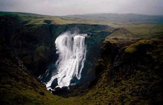 Lakagigar Fagrifoss in Iceland