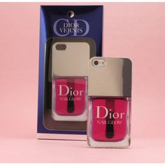 3D Dior Nail Polish Back Case for iPhone 5 - iPhone Cases - Apple Cases - Mobile Accessories Free Shipping