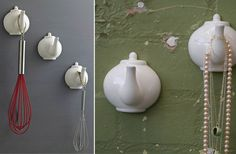 For those of you that know how to cut a teapot in half without smashing it all over the place....  For the rest of us, aww it's pretty