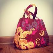Swoon Ethel Tote Bag - via @Craftsy