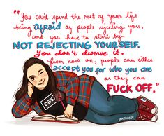 inspiring quotes, bodi posit, weight loss, my mad fat diary quotes, diaries, mmfd, arthlet girl, people, fat diari