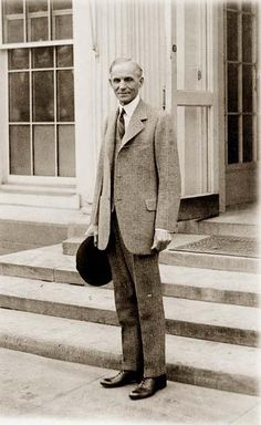 Henry Ford, full-length portrait,