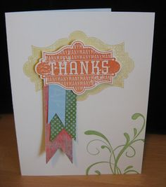 Everything Eleanor Thank YOU Banner Card
