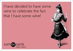 Cheers to WINE!