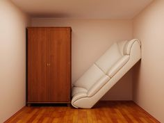6 Low/No Cost Ways to Create More Space in Your Small Apartment ~ click on photo for link ~